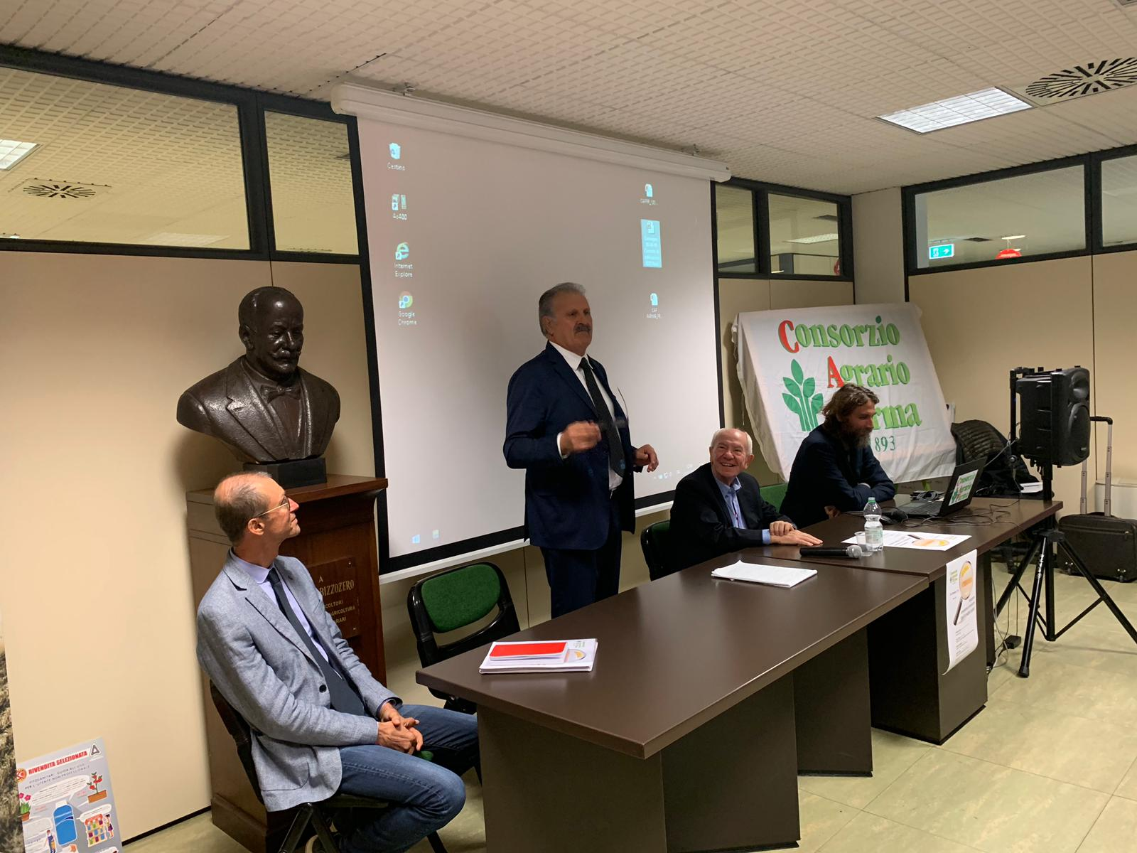 Consorzio Agrario Parma e Pellati Informa: incontro dedicato ai cereali, Giov.10 Ottobre 2019